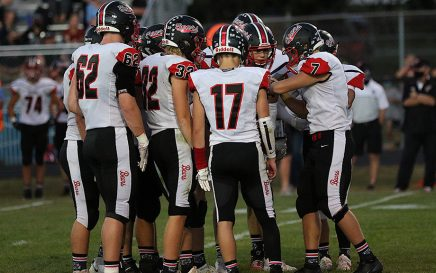 WB Offensive Huddle