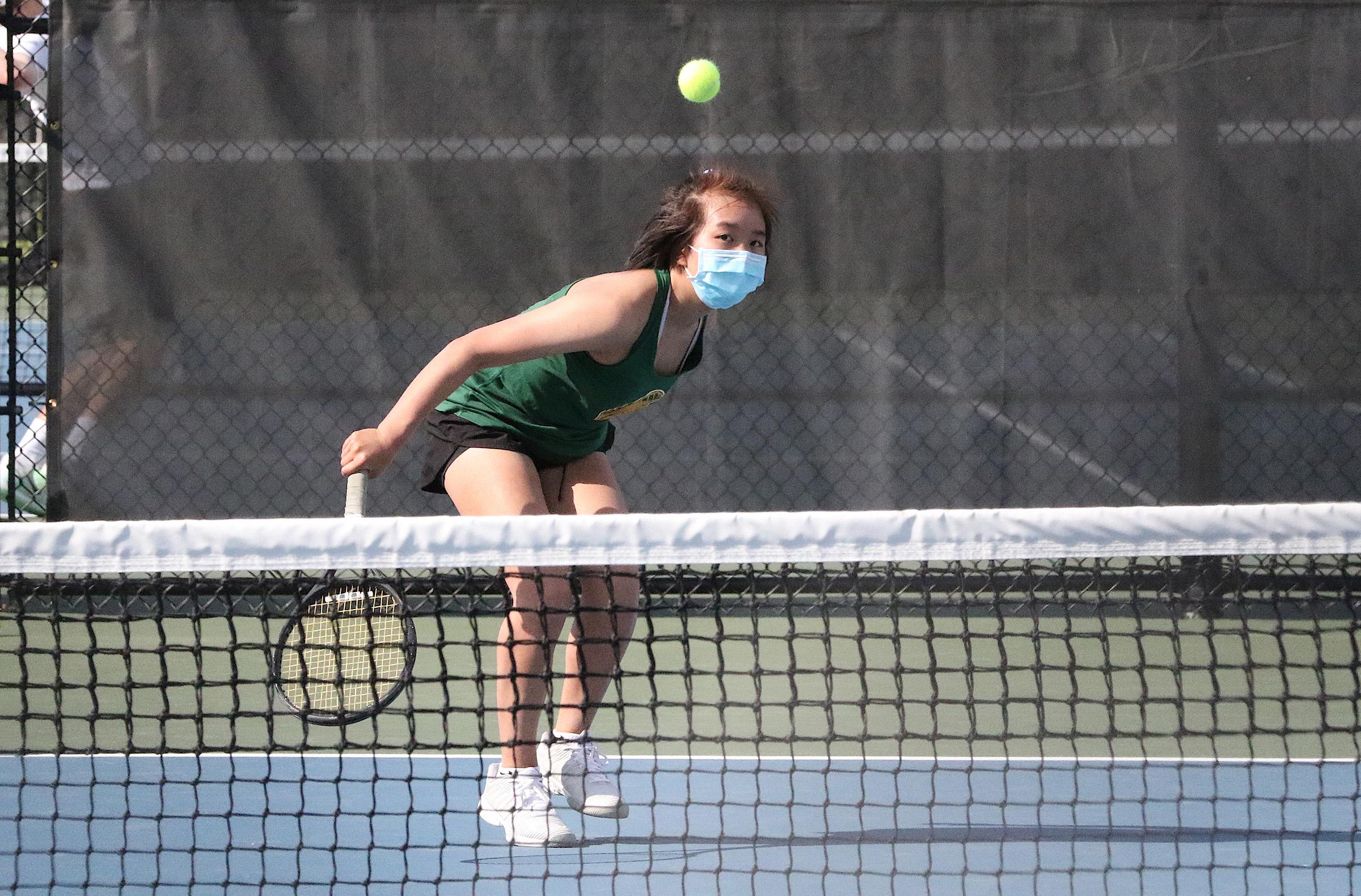 West Girls Tennis No. 4 Singles-3